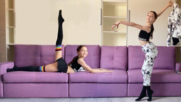 Home Gymnastic Improvisation & Gymnastic Warm-Up #37 from Tina