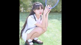 現役中学生のテニスウェア 姫華JC2 テニスできません==(´・ω・`)