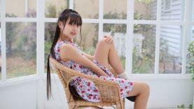 現役中学生のキャミソールワンピース 姫華JC2 スタジオ撮影==(^^♪ (^^♪
