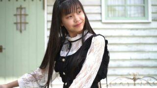 清楚系コーデでスタジオ撮影、姫華JC3の15歳==( ´∀` )