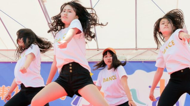 ヒップホップダンス① 高校生チーム JK HIP-HOP Dance ステージ [4K]