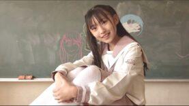 ツインテールでセーラー服 響野ユリアJS5 ピンクのセーラー服で学校撮影==✌('ω'✌ )三✌('ω')✌三( ✌'ω')✌