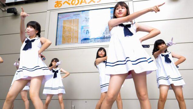 アモレカリーナ大阪 「Shooting Star」 ガールズ アイドル Japanese girls Idol group [4K]