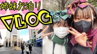 【Vlog】姉妹でお泊り!大阪の旅!初めてのユニバーサル・スタジオ・ジャパン (前編)【しほりみチャンネル】