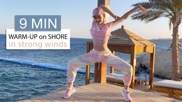 Warm-Up on Shore in Strong Winds / Workout on Vacation #3 / Danatar GYM