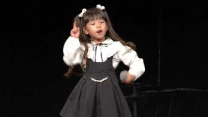 [4K] 2020.10.18 るあ(5才) (金津美月🦄With!⭐mini))「有頂天LOVE (スマイレージ)」東京アイドル劇場mini