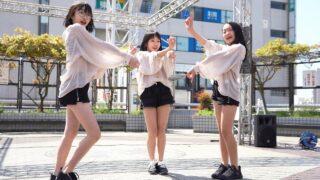 【4K/a7Ⅲ】ちびすた Thank you people☆STREET -特別編-@ペデストリマンデッキ(はと広場) 2021/04/11