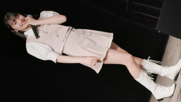 【EOS R5/4K】 柏結菜(Si☆4)/東京アイドル劇場mini ソロSP 「今咲き誇る花たちよ/コブクロ」 20210429 [4K]