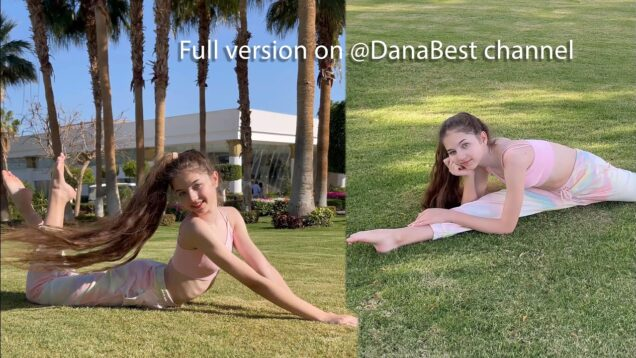Gymnastic Photoshoot on Beautiful Nature / Part 1 / Danatar Backstage
