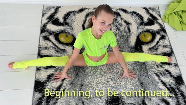Part 1 Home Gymnastic Improvisation #6 from Tina