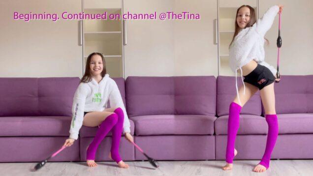 Warm-Up with Gymnastic Clubs / Tina