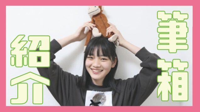 中学生が使う筆箱紹介♡おさるのジョージしか勝たん!!!!!!