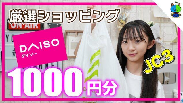 【ダイソー】現役中学生が1000円持ってDAISOでお買い物した結果…【ももかチャンネル】