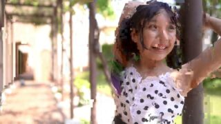キャミソールワンピースの唯花( 11 years old  ) ビィラ・デ・マリアージュで撮影==\(^ω^)