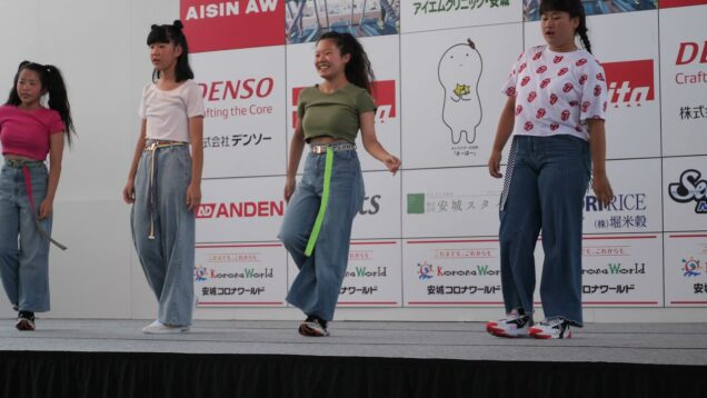 【4K】キッズダンス「安城七夕まつり⑥」@2019年08月04日