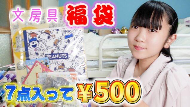 文房具の福袋!7点入って500円♪文房具好き必見!!!