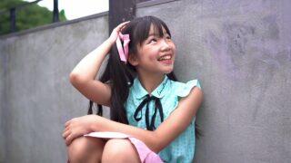 ガーリファッションでスタジオ撮影 田村千尋(  Chihiro Tamura 10 years old  )