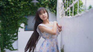 ノースリーブワンピースでスタジオ撮影 姫華(  Himeka  15 years old  )=\(^_^)/