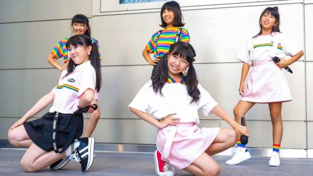 かわいいティーンモデル達がワンピース主題歌をカバー ダンス&ヴォーカルユニット Japanese girls Idol group [4K]
