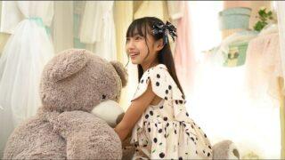 くまのぬいぐるみで遊びました==(;^ω^) 響野ユリア( Yuria Hibino ・ 11 years old  )