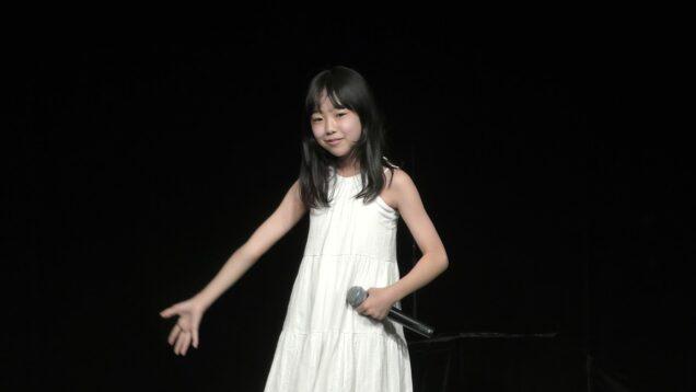 北島由唯(12)(小6)『亜麻色の髪の乙女(島谷ひとみ)(2002年)』2021.06.13(Sun.)YMCA スペースYホール