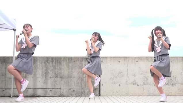 【4K/固定】20210704 すぱぁくる☆「放課後Party」@石川県加賀市・片山津温泉 湯の元公園