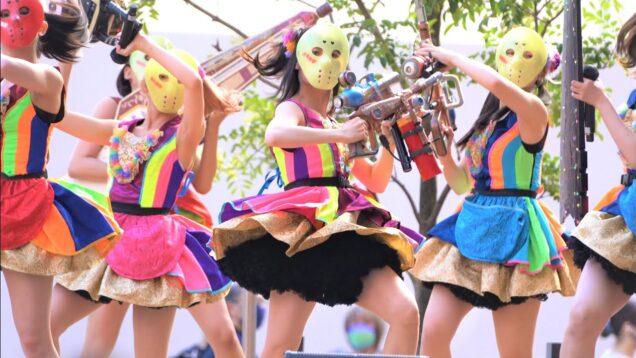 "【4K/α7Rⅲ/70200GM】仮面女子(Japanese idol group ""KAMEN JOSHI"")at niigo広場 2021年7月10日(土)"