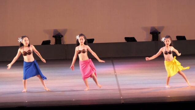 【4K】キッズハワイアンダンス「2019年06月16日④」@第52回多治見市市民文化祭