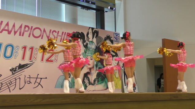 【4K】キッズダンス「ボートレース蒲郡➂」@2019年07月28日