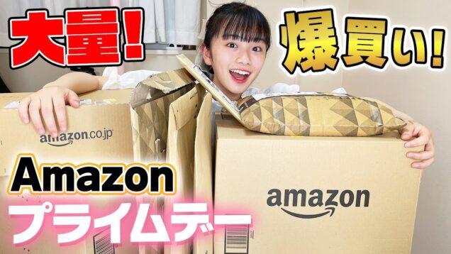 Amazonの大特価セール!プライムデーで通常価格3万円オーバーの爆買い!