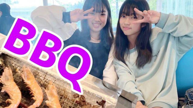 BBQしてきた!THE BBQ BEACH☆seira & kokomi にゃーにゃちゃんねる