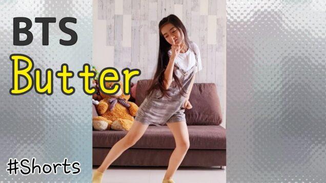 【BTS】'Butter' 踊ってみた♪けど「下手だからアップしないで!」って…でも…もったいないからアップしちゃった! Dance Cover #Shorts