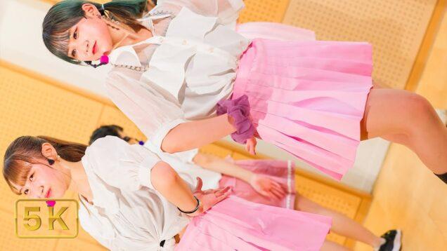 【 縦動画 】 KJ-popガールズグループ練習生 – Mr. Chu  ( Apink ) – @せたがやがやがや館 2021,07,11