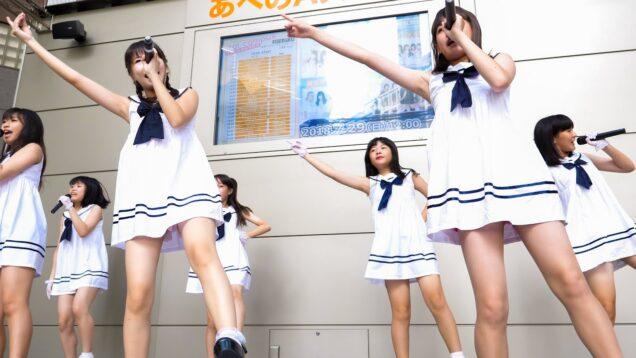 アモレカリーナ大阪 「明日に向かって走れ / 君の偶然」 ガールズ アイドル Japanese girls Idol group [4K]