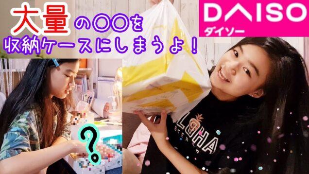【ダイソー購入品紹介】ダイソー収納ケースに大量の○○をしまうよ~!