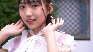 ガーリーワンピースでスタジオ撮影==(;^ω^) 響野ユリア( Yuria Hibino   11 years old  )