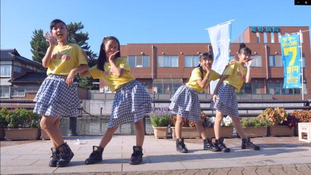 【4K60P】IM Zip(アイムジップ)「Make you happy(NiziU)」射水市のじた盆踊り 川の駅新 2021/7/31