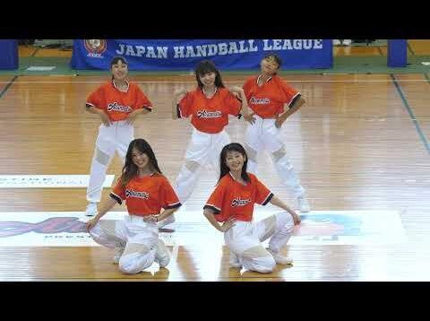 【4K60P】ORANGEPURE「オランジェピュール(アランマーレハンドボールチーム公認ダンスユニット) 」ORANGEROAD 2021/8/28