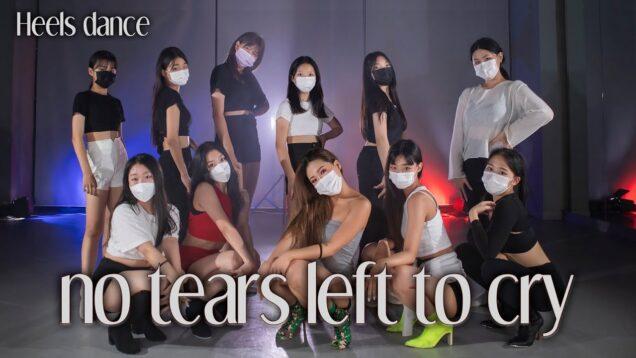 Ariana Grande – no tears left to cry HEELS DANCE @GROUN_D