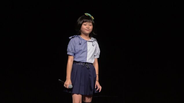 すずちゃん(岡山)「カイト」「虹」 スタたんVol.5 東京アイドル劇場mini@YMCAスペースYホール 2021年8月15日