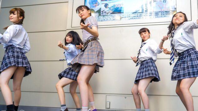 三阪咲 with 高校生ダンサー 「LOSER (米津玄師)」 アイドル ステージ Japanese singer [4K]