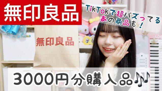 【無印良品】3000円分の美容&文具購入品❣️ TikTok超バズってるあの商品も!!?
