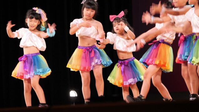 【4K】キッズダンス「2019年06月23日②」@第52回多治見市市民文化祭