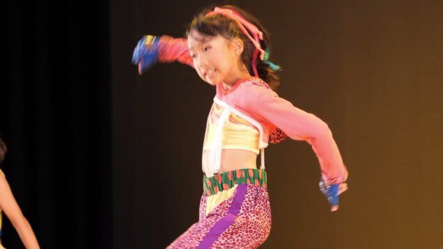 【4K】キッズダンス「2019年06月23日①」@第52回多治見市市民文化祭