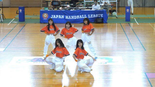 【4K60P】ORANGEPURE「オランジェピュール(アランマーレハンドボールチーム公認ダンスユニット) 」ORANGEROAD 2021/9/12